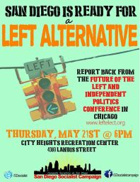 san diego left alternative
